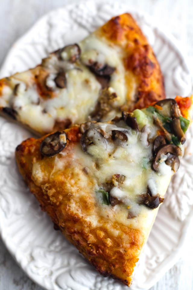 Amys Meatless Pizza