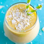 Tropical Overnight Oatmeal Smoothie