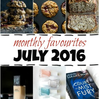 monthly favourites – july 2016