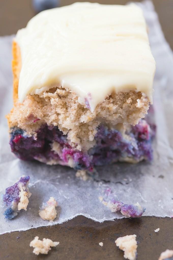 Flourless Blueberry Breakfast Cake