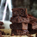 Flourless Double Chocolate Zucchini Brownies