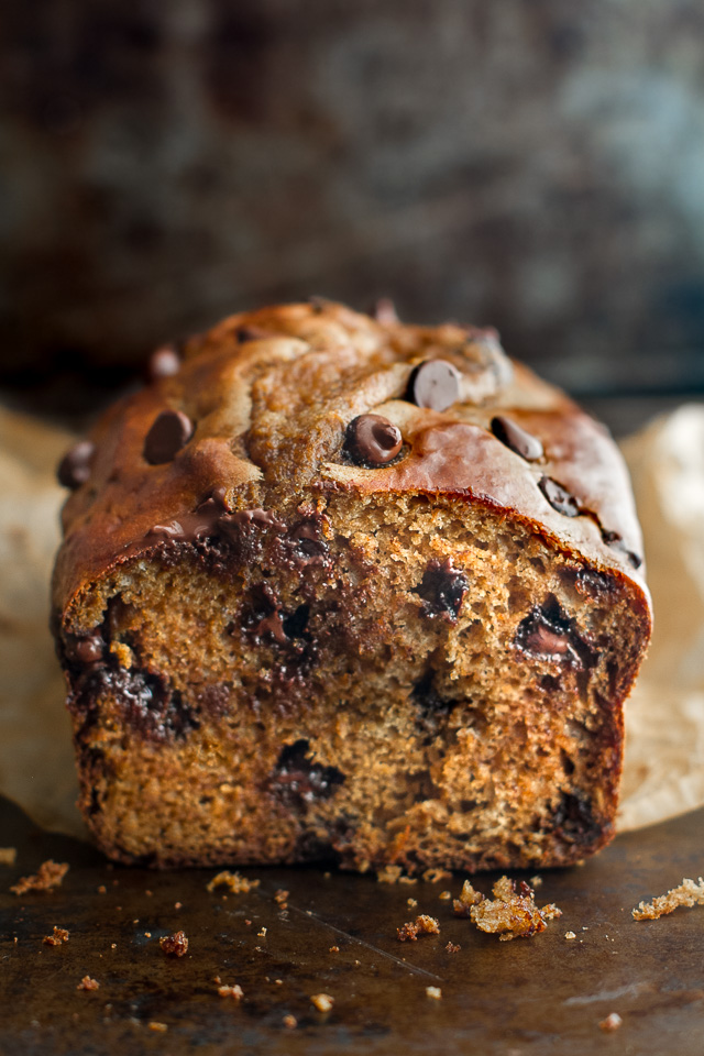 This One Bowl Greek Yogurt Pumpkin Bread recipe is made without butter, oil, or refined sugar, but so tender and flavourful that you'd never be able to tell it's healthy!   runningwithspoons.com