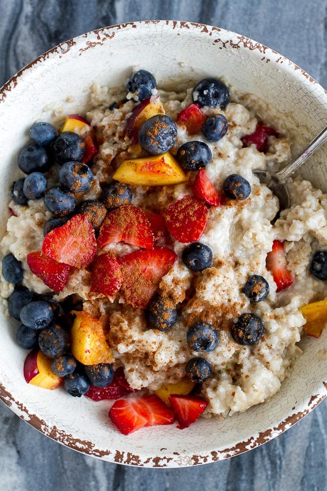 Summer Fruit Oatmeal