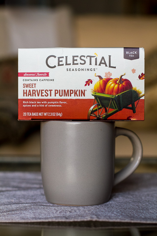 Sweet Pumpkin Harvest Tea