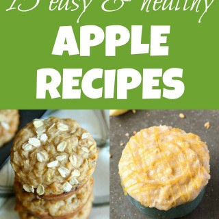 15 easy & healthy apple recipes