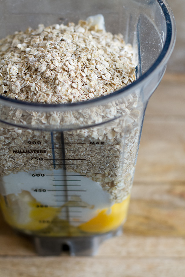 banana-oat-muffin-ingredients