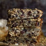 Chewy Trail Mix Protein Granola Bars4