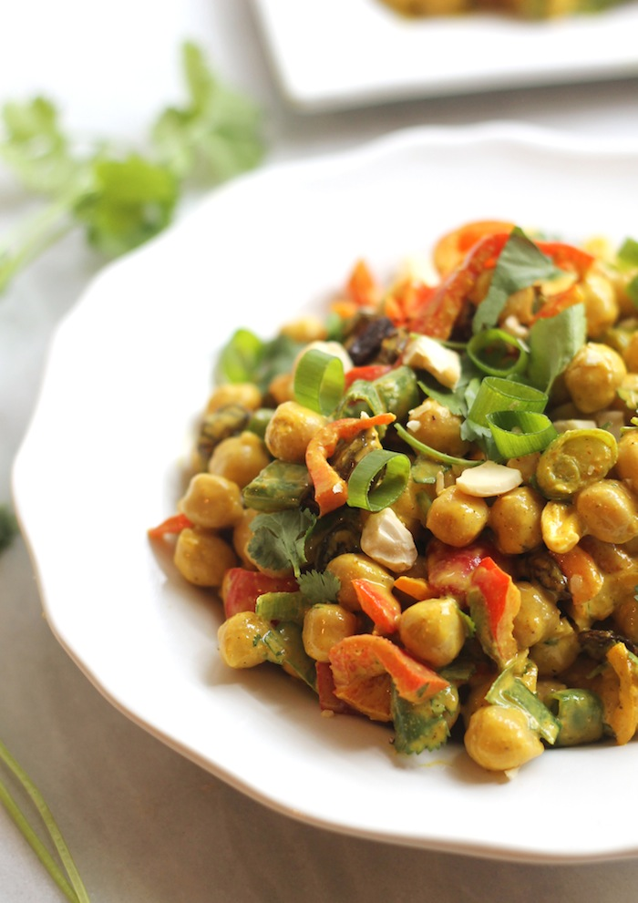 Curried Bean Salad Recipe — Dishmaps