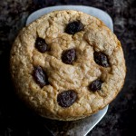 Deep Dish Oatmeal Raisin Breakfast Cookie