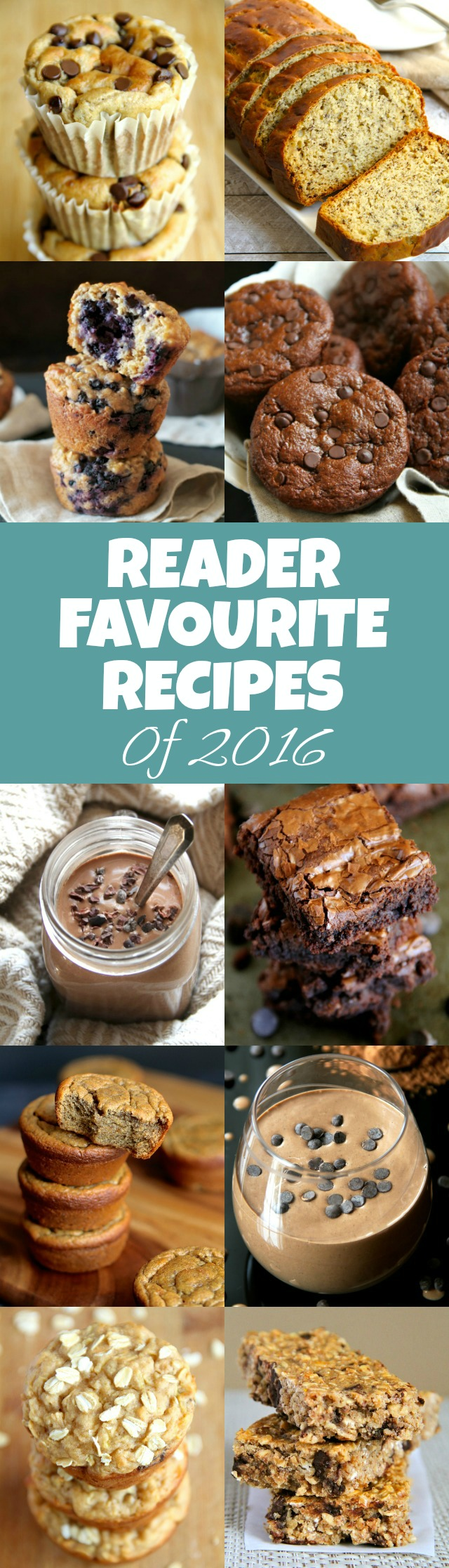 Top 10 Reader Favourite Recipes of 2016! - a collection of healthy desserts and snacks to incorporate into your diet in the new year! | runningwithspoons.com