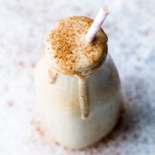 Caramel Apple Protein Smoothie3