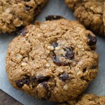 Flourless Oatmeal Raisin Cookies3