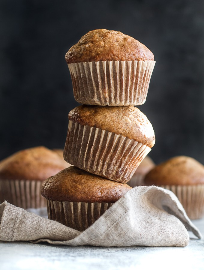 Healthy One Banana Muffins