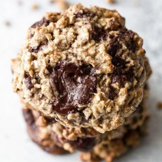 Chocolate Chunk Banana Oatmeal Cookies5