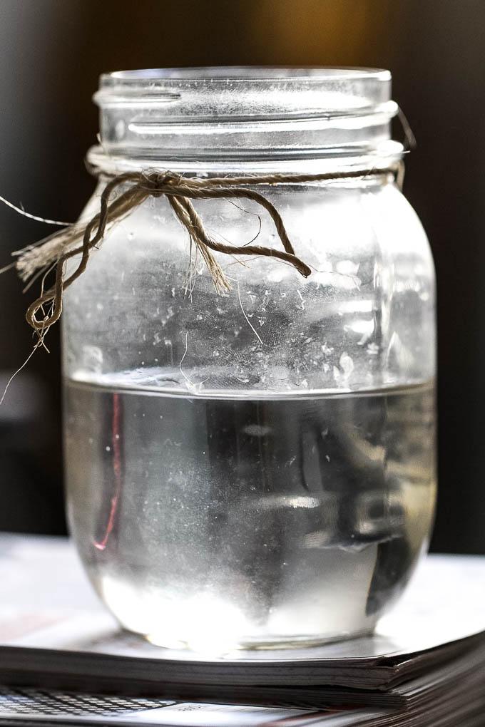 Mason Jar Water