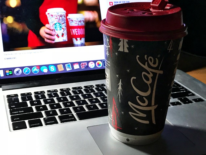 McDonalds Holiday Cup