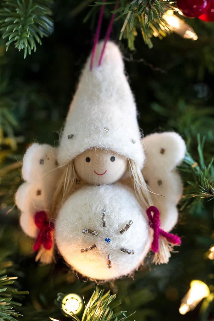 Pigtails Ornament