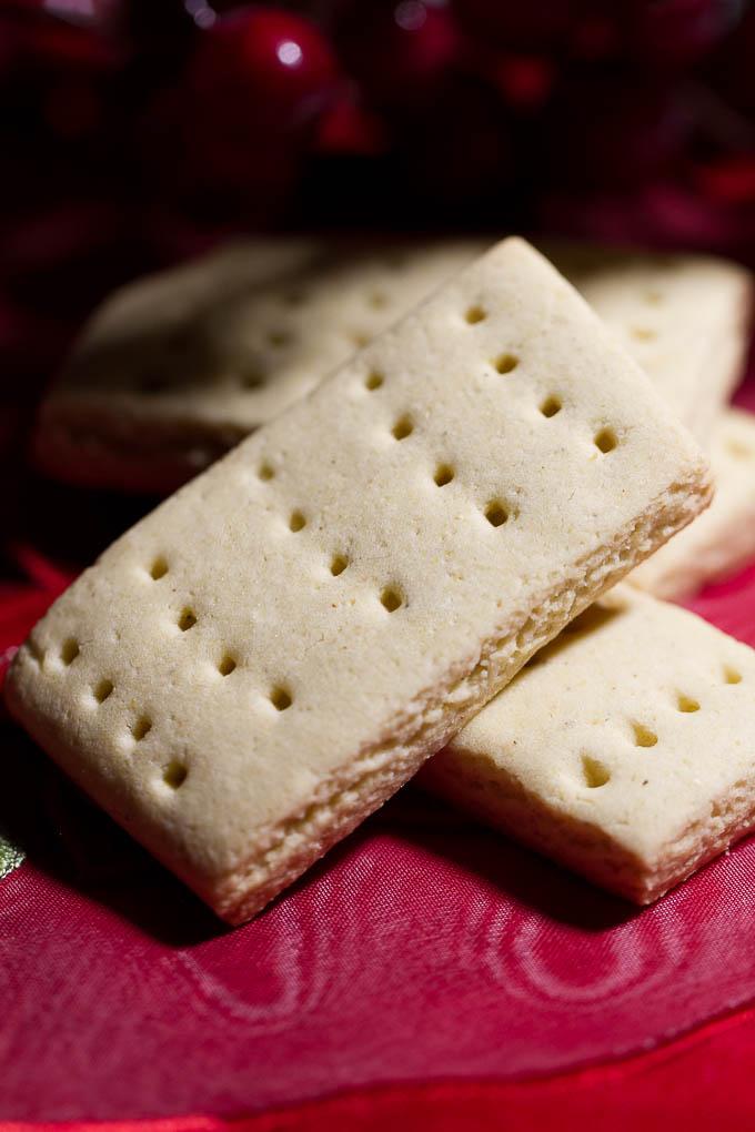 Vegan GF Shortbread Cookies
