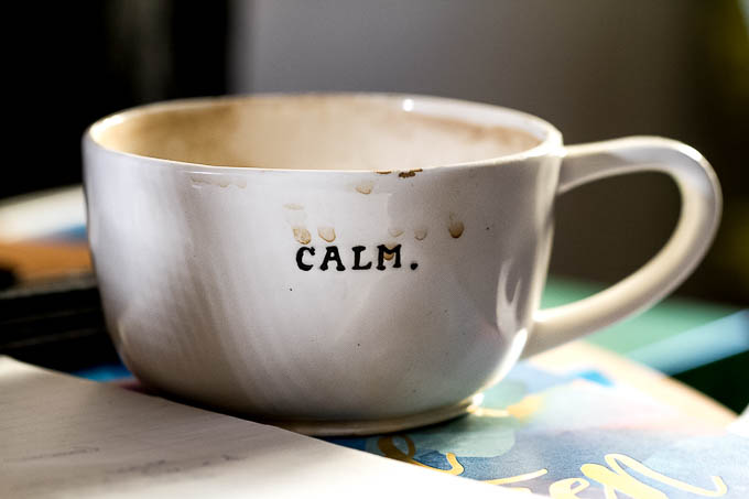 Calm Coffee Cup