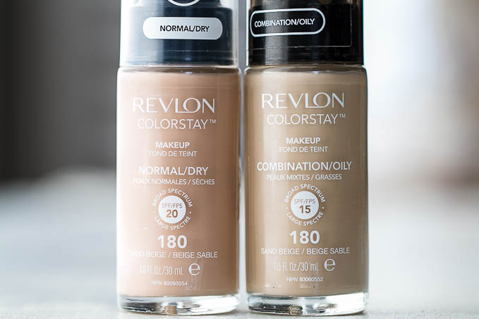 Revlon Colorstay Differences
