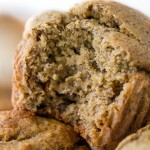 Flourless Vegan Banana Muffins2