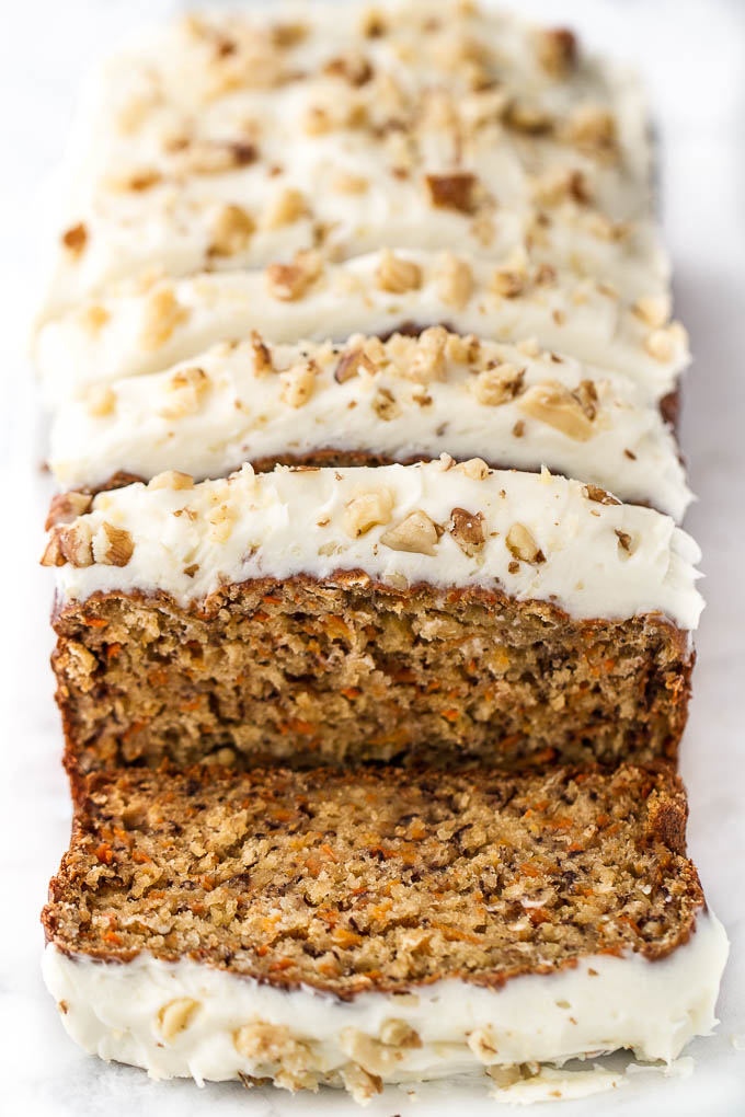One Bowl Carrot Cake Banana Bread Running With Spoons