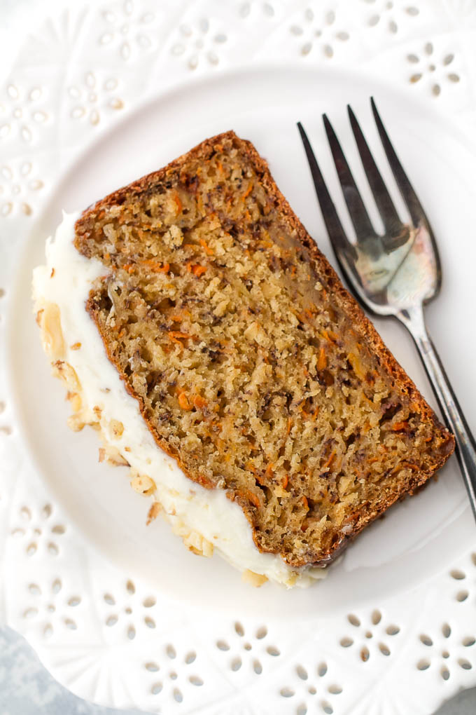 Carrot Cake Made Without Oil