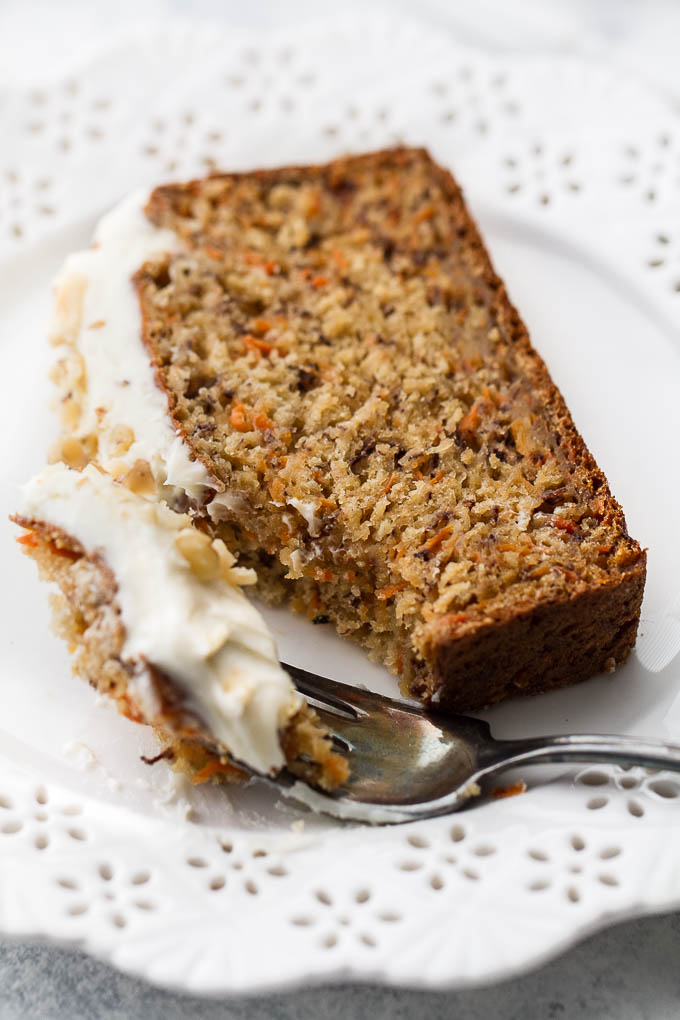 Banana Carrot Cake Made With Oats