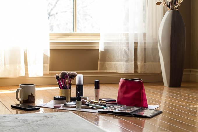 Morning Makeup Station
