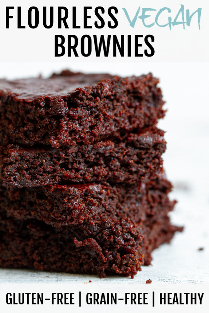 Flourless Vegan Brownies Gluten Free Grain Free